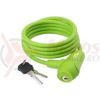 Lacat cu cheie 8x1500mm verde S8.15S M-Wave