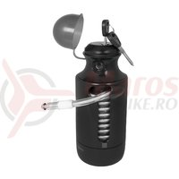 Lacat Force Bottle Lock 150cm/7 mm negru