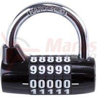 Lacat M-Wave cu cifru 5 cifre 64x60x27mm