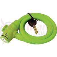 Lacat Merida spiralat 1200x12 mm verde