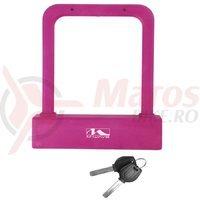 Lacat octagonal roz B205 M-Wave