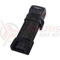 Lacat pliabil Trelock Trigo FS 300/85 negru cu teaca