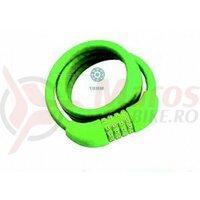 Lacat Tonyon TY573, 10X1000 cu cifru, verde
