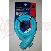 Lacat Tonyon TY582-B, 12X1000 cu cheie, albastru deschis
