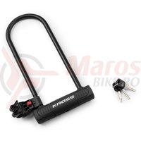 Lacat U-Lock cu cheie Kross KZU 350 180 X 350mm black