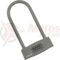 Lacat U-Lock cu cifru Kross KZU 150 123x228 mm