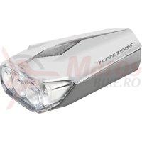 Lampa fata Kross Lumi II 3 LED 2 functii white