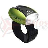 Lampa fata Sigma Micro Verde/LED-Alb