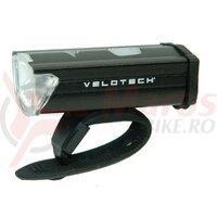 Lampa fata Velotech alu midi 3W, LED, USB