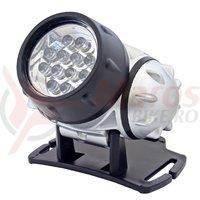 Lampa fixata pe cap 12 LED-uri