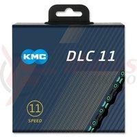 Lant KMC DLC 11 negru/cyan