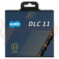 Lant KMC DLC 11 negru/orange