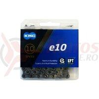 Lant KMC E10 EPT 10 viteze 136 zale Ebike argintiu