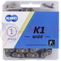 Lant KMC K1 Wide Silver/Black
