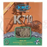 Lant KMC K710 BMX silver/black 1300kg.