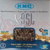Lant KMC X-9 SL gold(ti-n)