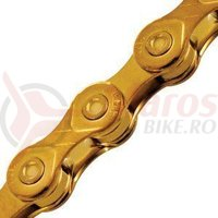 Lanţ KMC X10 auriu