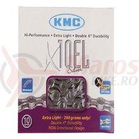 """Lant KMC """"X10 EL"""" Silver"""