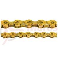 Lant KMC X10 Gold 10v 114z 1/2*11/128 Ti-N auriu