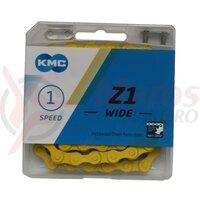 Lant KMC-Z510H 1/2*1/8 galben/galben