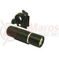 Lanterna fata - baterii, 1 led, 3W, negru