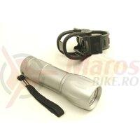 Lanterna fata- baterii, 9 led (551022000000)