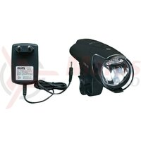 Lumina LED-accuh.light b&m IXON IQ Premium 80 Lux with power unit and accus