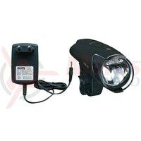 Lumina LED-Battery Lamp IXON IQ BUMM negru incl. acumulator si incarcator