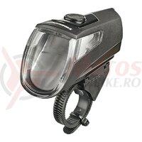 LED battery light Trelock I-go Eco LS 360 black w. mount ZL 760, 25 lux