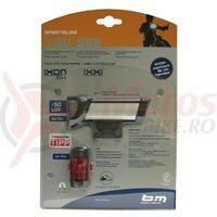 Set lumini LED-Batterylight IXON Core/Ixxi