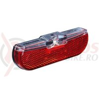 Lumina spate LED dinam Trelock Duo Flat LS 613, black, parking light