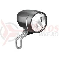Lumini LED headl. b&m IQ Myc E max.42V 50 lux black