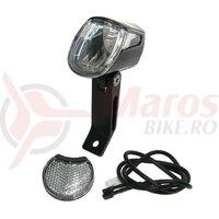 LED headlight Trelock Bike-i Go 40 LS 430/40eBike,6-12V,blk.,w. mount ZL910