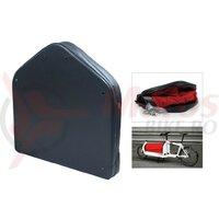 loading space bag Fahrer 'Hood' for Bullitt Cargo bikes, red