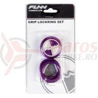 Lock ring cu bar ends FUNN COMBAT laser logo mov