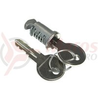 Lock with a key for coupling carreir Peruzzo