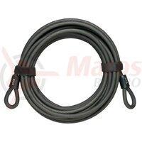 Cablu antifurt AXA lungime 10 metri, 10mm black