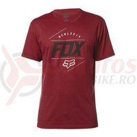 Tricou Fox Looped Out SS Tee heather red