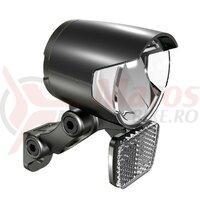Lumina fata Herrmans H-Black MR4 D dynamo, black, on/off parking light