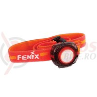 Lumina Fenix Light HL05 Led 8 Lumeni banda rosie