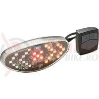 Lumina spate BIKEFUN TURN cu indicator directie - JY-1305