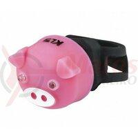 Lumină spate Kellys Piggy, roz