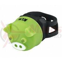 Lumină spate Kellys Piggy, verde