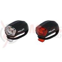Lumini XLC light set CL-E14 2 red, 2 white LED's