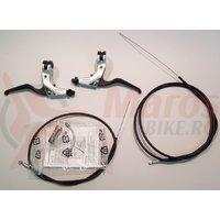Maneta de frana Shimano Deore XT BL-T780 Dreapta & Stanga Argintiu