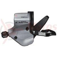 Maneta de schimbator Shimano Claris SL-2403 stanga 3v cablu 1800mm OGD