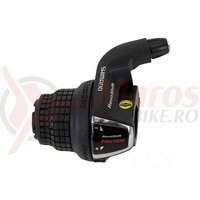 Maneta de schimbator Shimano Tourney SL-RS-LN 3v neindexata Revo cablu 1800mm