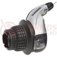 Maneta de schimbator Shimano Tourney SL-RS45-L stanga 3v SIS Revo cablu 1800mm OGD
