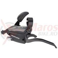 Maneta schimbator/frana Shimano ST-EF500-L, stanga 3 V