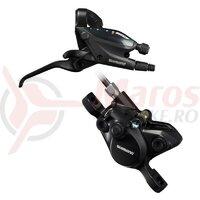Maneta schimbator/frana Shimano ST-EF505(9R), BR-MT200(R), 9v fara adaptor, placute resin